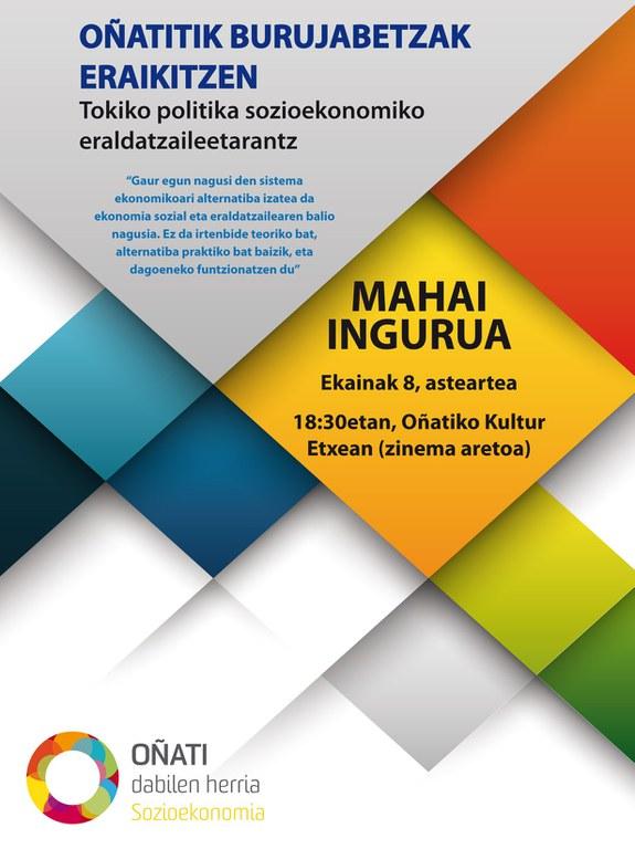 """""""Construyendo soberanías desde Oñati"""" (en euskera)"""