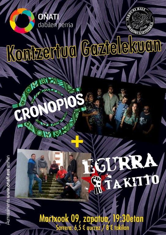 Cronopios y EgurraTaKitto en directo