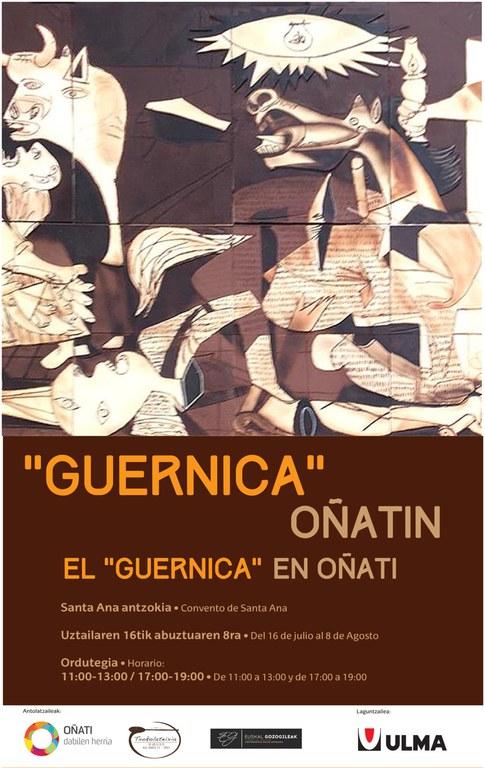 """El """"Guernica"""" de chocolate en Oñati"""