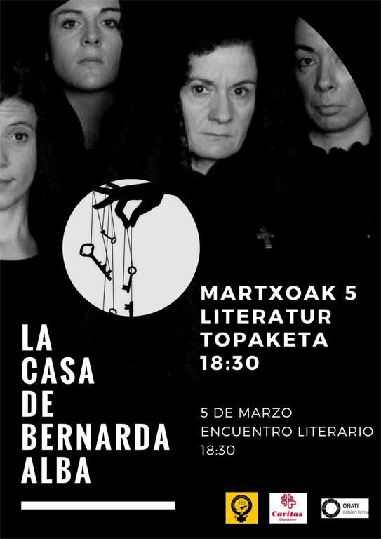 Encuentro literario: La casa de Bernarda Alba