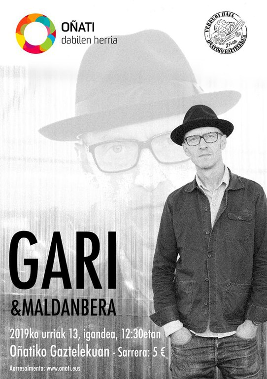 Gari & Maldanbera en directo en el Gazteleku