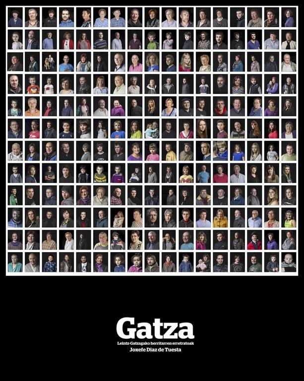 """""""Gatza"""" Leintz-Gatzagako herritarren erretratuak"""