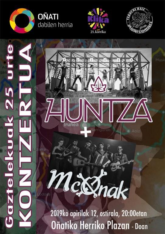 Huntza y McOnak