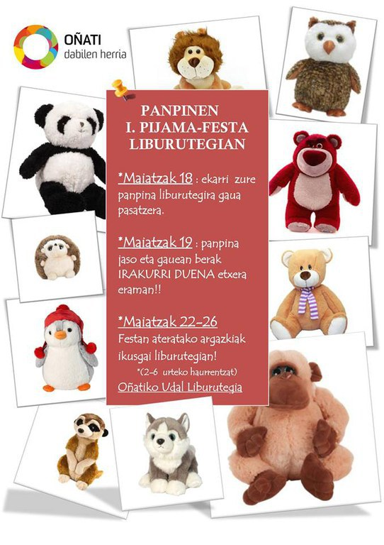 Panpinen I. pijama festa / Fiesta de pijamas de peluches