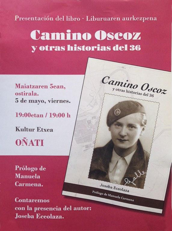 """Camino Oscoz y otras historia del 36"" liburuaren aurkezpena"