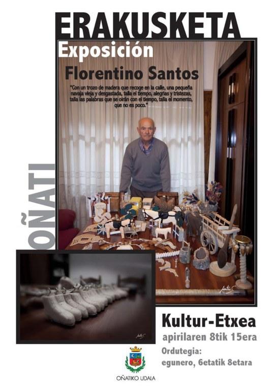 Florentino Santos-ek egindako egur lanak