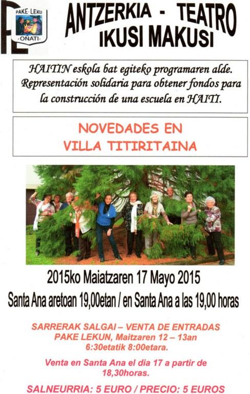 Mai17_Novedades-Titiritaina