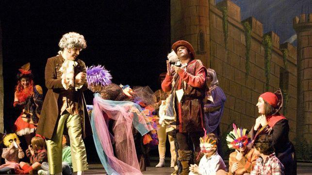 Musikegunak: Txirula magikoarekin jolasean