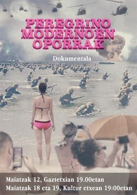 """""""Peregrino Modernoen Oporrak"""" dokumental emanaldia"""