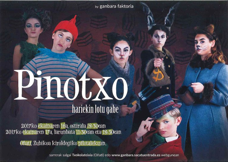 """Pinotxo, hariekin lotu gabe"""