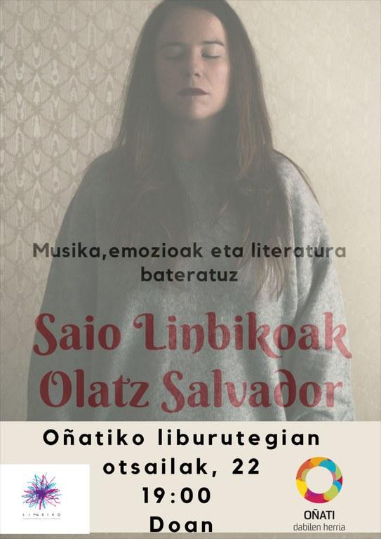Saio linbikoak, Olatz Salvador