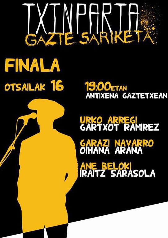 Txinparta Gazte Sariketa: Finala