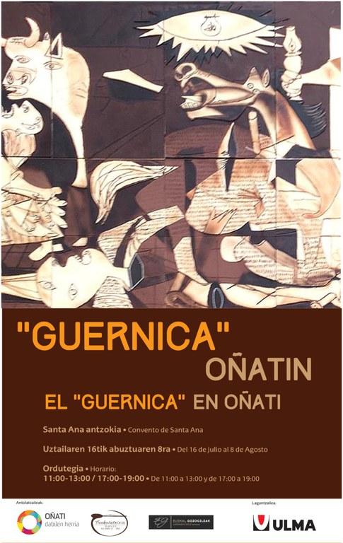 "Txokolatezko ""Guernica"" Oñatin"