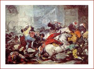 La carga de los mamelucos en la Puerta del Sol