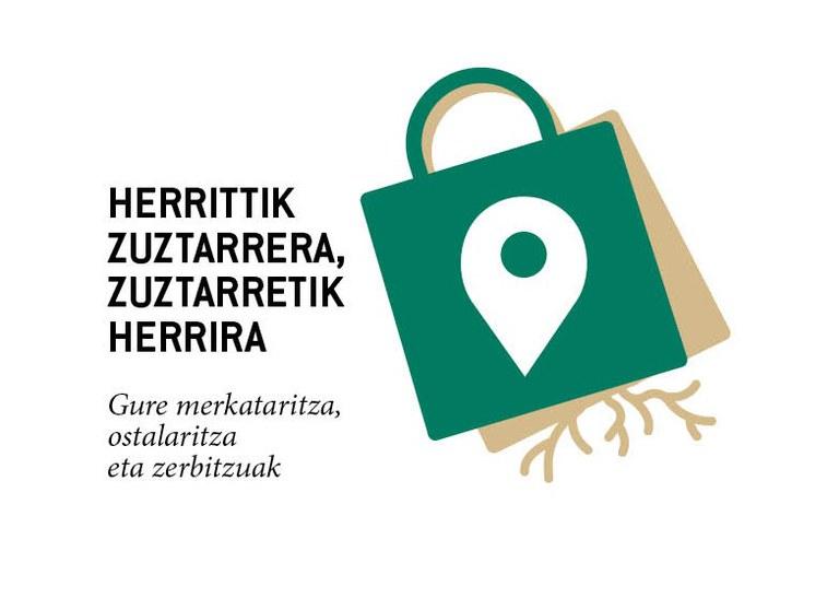 Herritik zuztarrera Logoa