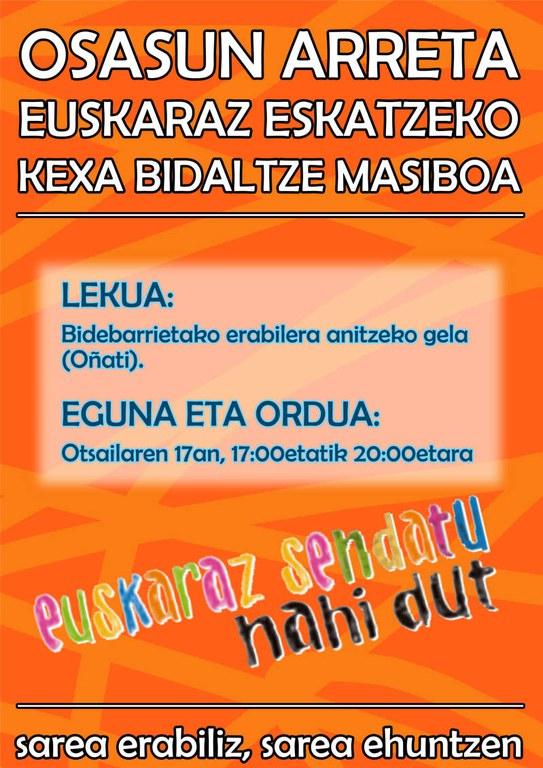 Osasun arreta euskaraz