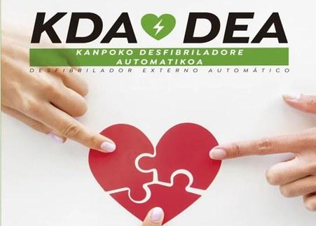 Kanpoko desfibriladore automatikoa - KDA